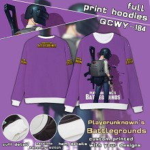 Playerunknown's Battlegrounds full print hoodies