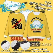 Gintama anime full print hoodies
