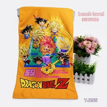 Dragon Ball anime towel