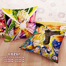 Dragon Ball anime two-sided pillow
