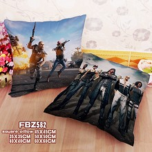 Playerunknown's Battlegrounds two-sided pillow