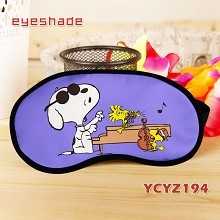 Snoopy eye patch