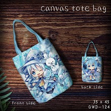Hatsune Miku canvas tote bag shopping bag