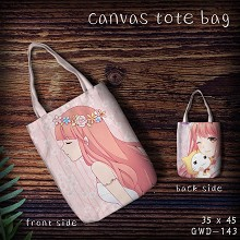 Miracle Nikki canvas tote bag shopping bag