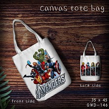 The Avengers canvas tote bag shopping bag