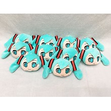 5inches Hatsune Miku anime plush dolls set(10pcs a...