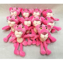 6inches PINK PANTUER anime plush dolls set(10pcs a...