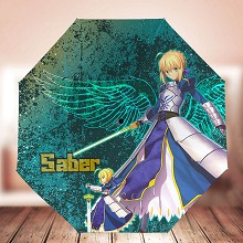 Fate saber anime umbrella