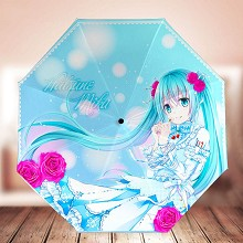 Hatsune Miku anime umbrella