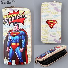 Super Man long wallet