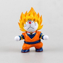 Doraemon cos dragon ball anime figure