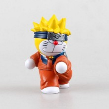 Doraemon cos naruto anime figure