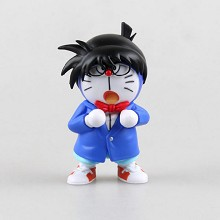 Doraemon cos conan anime figure