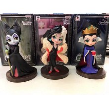 Disney Princess anime figures set(3pcs a set)