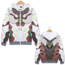 Overwatch Genji thick hoodie cloth