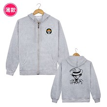One Piece Luffy anime thin hoodie cloth