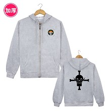 One Piece Edward Newgate anime thick hoodie cloth