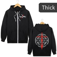 Fate anime thick hoodie cloth