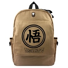 Dragon Ball anime canvas backpack bag