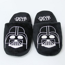 Star wars plush shoes slippers a pair