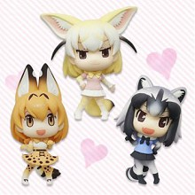 FuRyu Kemono Friends figures set(3pcs a set)