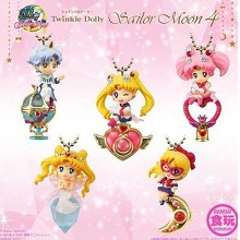 Sailor Moon anime figures set(5pcs a set) no box