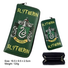 Harry Potter Slytherin long wallet