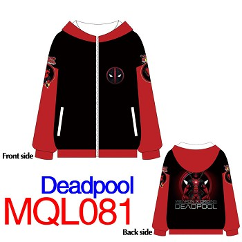 Deadpool hoodie cloth dress