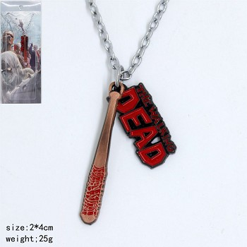The Walking Dead necklace