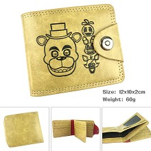 Five Nights at Freddy's wallet