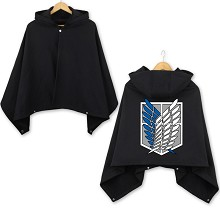 Attack on Titan anime dress smock cloak manteau ma...
