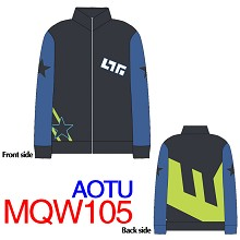 Aotu CRACK coat sweater hoodie cloth