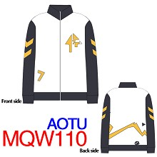 Aotu Gold coat sweater hoodie cloth