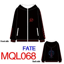 Fate anime hoodie cloth dress
