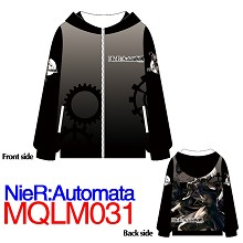 Black Rock Shooter anime hoodie cloth dress