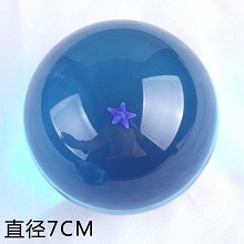 Big anime blue dragon ball 1 star 70MM