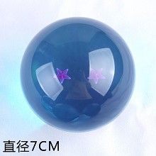 Big anime blue dragon ball 2 stars 70MM