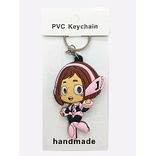 My Hero Academia anime two-sided key chain