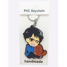 Yuri on Ice anime two-sided key chain