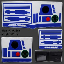 Star Wars D2R2 silicone wallet