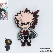 My Hero Academia anime brooch pin