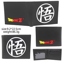 Dragon Ball anime silicone wallet