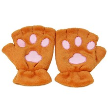 Neko Atsume plush gloves a pair