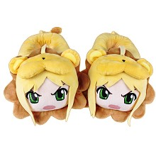 12inches Fate saber anime plush shoes slippers a p...