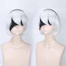 NieR:Automata 2B cosplay wig + eye path a set