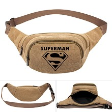 Super Man canvas pocket waist pack bag