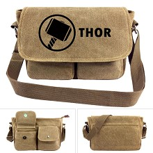 Thor canvas satchel shoulder bag