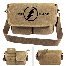 The Flash canvas satchel shoulder bag
