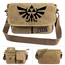 The Legend of Zelda canvas satchel shoulder bag