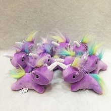 5inches My Little Pony Unicorn plush dolls set(10pcs a set)